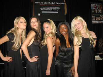 HAIR EXTENSIONS NYC GLOBAL BEAUTY FASHION SHOW