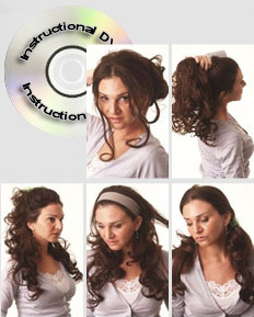 attach hair extensions