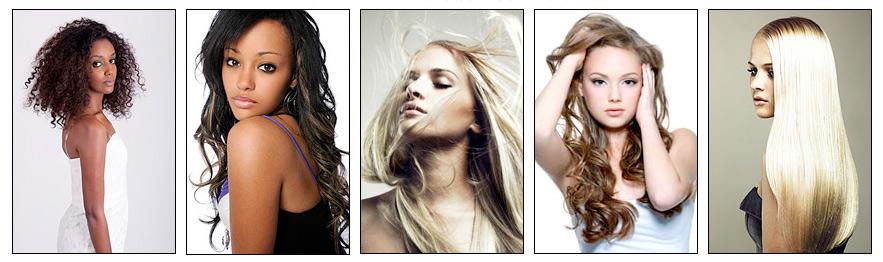 Natural Hair Additions - New York City - NYC - NY - Weddings - Bridal
